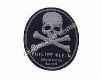 Philipp Plein Limited Edition Skull Oval Badge