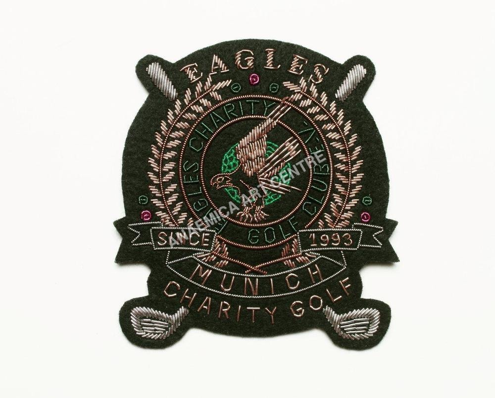 Eagle charity golf club badge