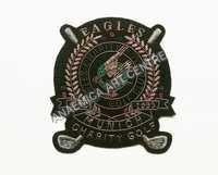 Eagle charity golf club badge