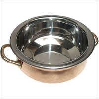 Copper Steel Serving Dish With Lid CSSD - 905