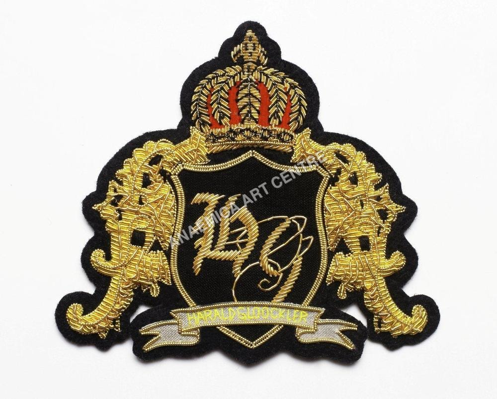 Gold bullion patch