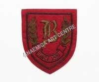 Gold Wire Thread Badge