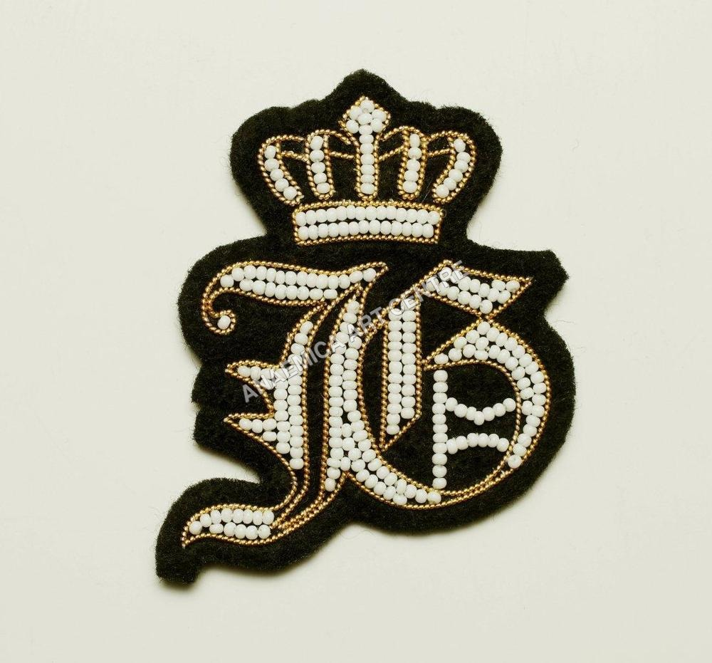 Glass Beads Patch Badge