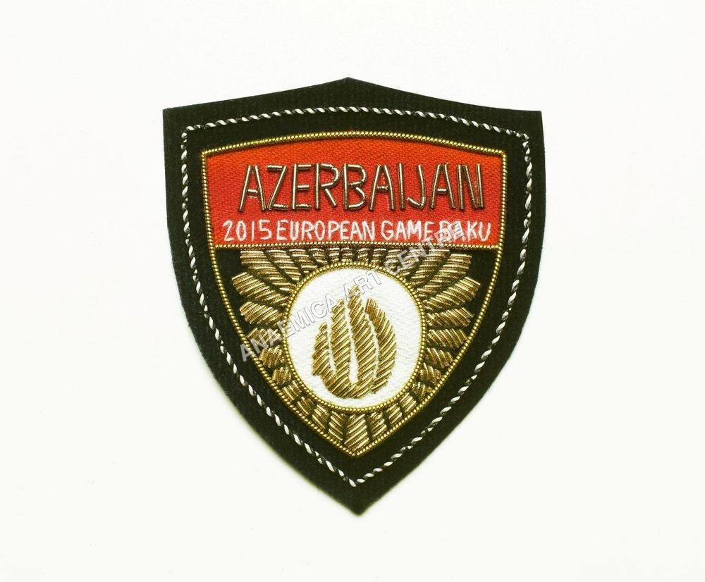 Embroidered Fashion Badge