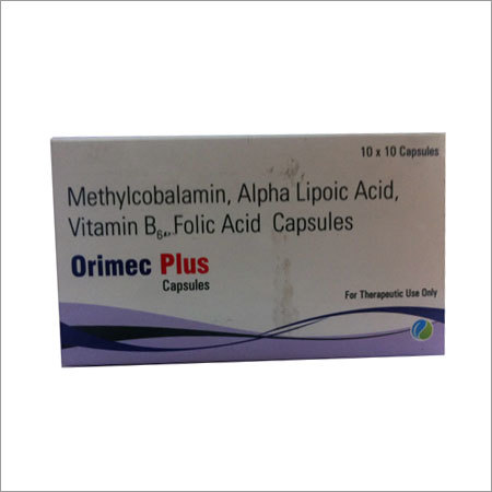 methylcobalmin,alpha lipoic acid, vitamin B6,folic