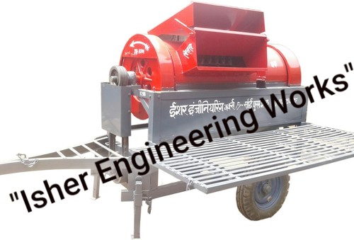 Tractor Wheat Thresher