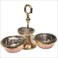 Copper Steel Pickle Set