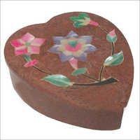 Stone Heart Shape Box SB-72