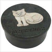 Stone Round Box SB-76