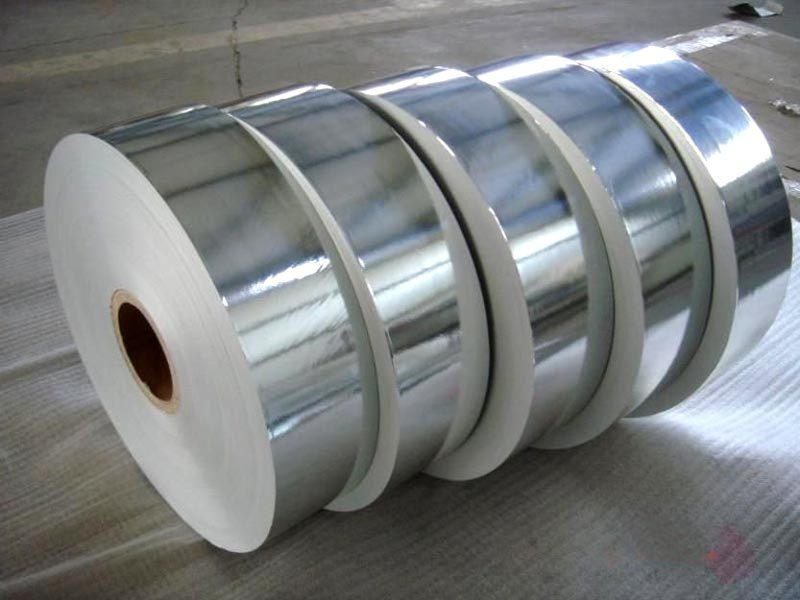 Silver Plated Paper Roll