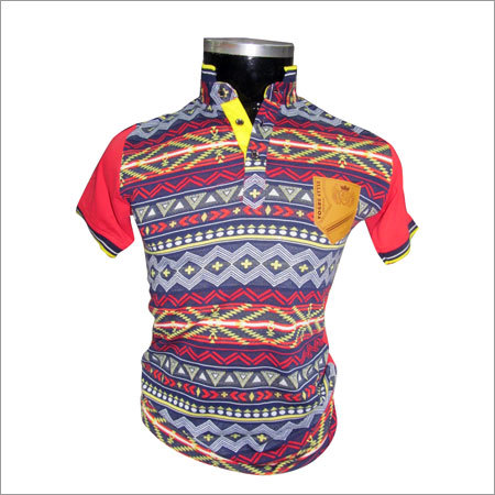 Multi Color Casual T Shirts
