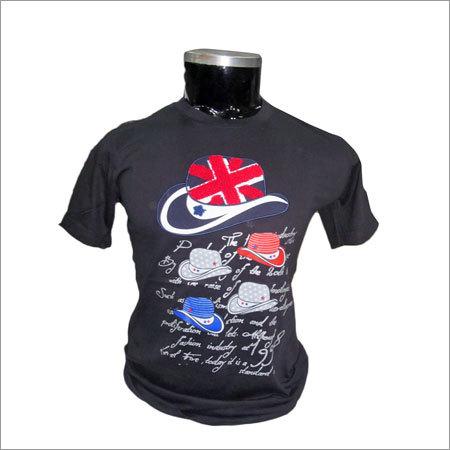 Half Sleeves Mens T Shirt