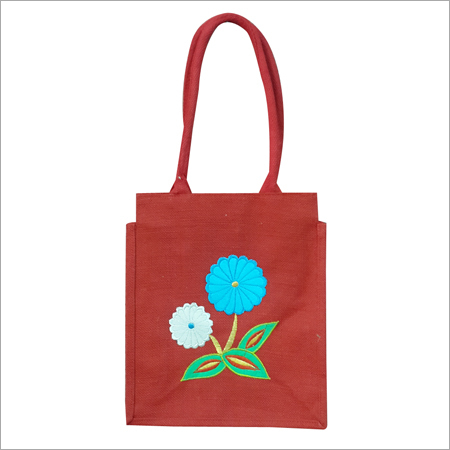 Jute Lunch Carry Bag