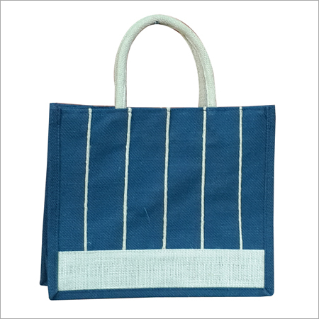 Fancy Jute Lunch Bag