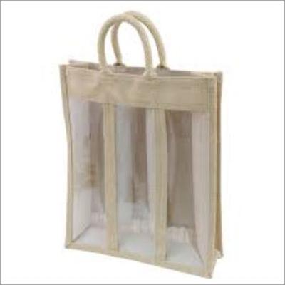 Jute Transparent Bags