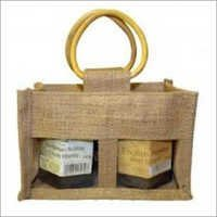 Jute Bag With PVC Window