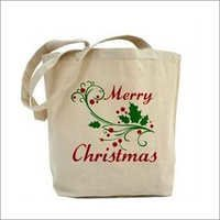 Jute Christmas Shopping Bags