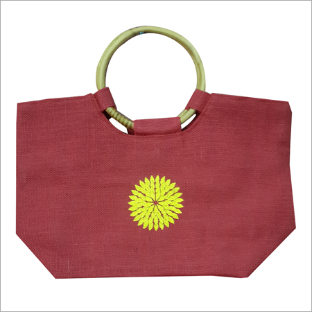 Designer Jute Beach Bag