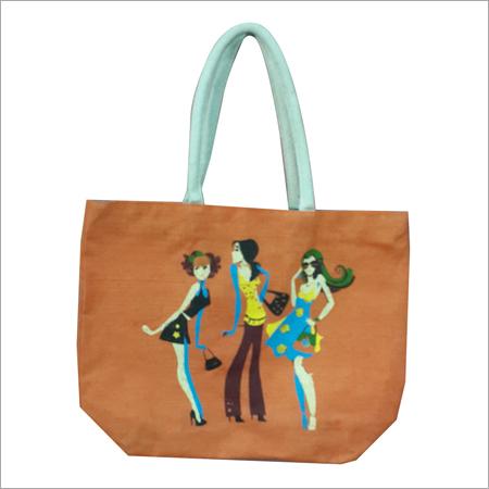 Fancy Jute Beach Bag