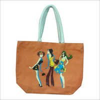 Fancy Jute Beach Bag