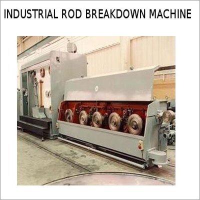 Industrial ROD Breakdown Machine