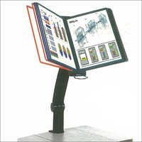 Moulded Felxi Arm Table Display Unit