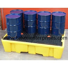 Spill Containment Pallets for Two drums