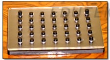 Tablet Triturate Moulds