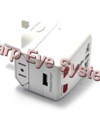 GSM Worldwide Plug Adapter BUG Sound Activation