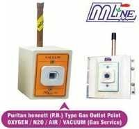 Puritan Bennete Type Medical Gas Wall Outlet