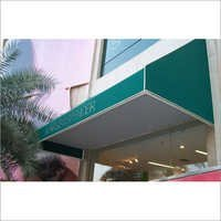 Commercial Fixed Awning