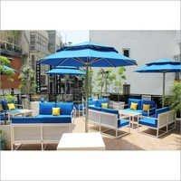Stainless Steel Garden Umbrellas