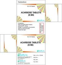 Acarbose Tab BP 25 mg