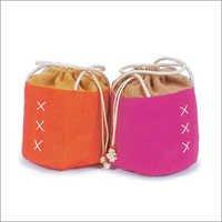 Jute Drawstring Gift Bags