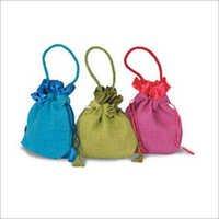 Custom Jute Drawstring Bags