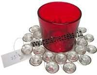 Diamond Glass Votives T Light Holder DGV- 15