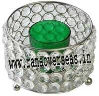 Diamond Glass Votives T Light Holder DGV-1