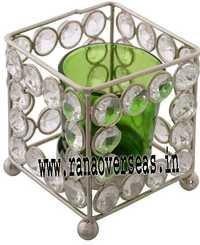 Diamond Glass Votives T Light Holder DGV-3