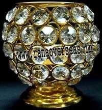 Diamond Glass Votives T Light Holder DGV-5
