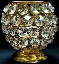 Diamond Glass Votives T Light Holder DGV-5