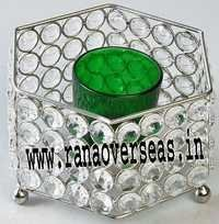 Diamond Glass Votives T Light Holder DGV-7