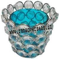 Diamond Glass Votives T Light Holder DGV-9