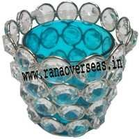 Diamond Glass Votives T Light Holder DGV-9