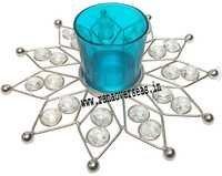 Diamond Glass Votives T Light Holder DGV-12