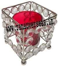 Diamond Glass Votives T Light Holder DGV-14