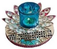 Diamond Glass Votives T Light Holder DGV-16