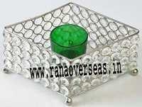 Diamond Glass Votives T Light Holder DGV-17