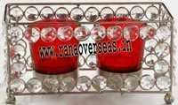 Diamond Glass Votives T Light Holder DGV-18