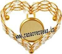 Heart Shape Diamond T Light Holder DTL- 21