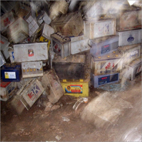 Used Automobile Battery Scrap
